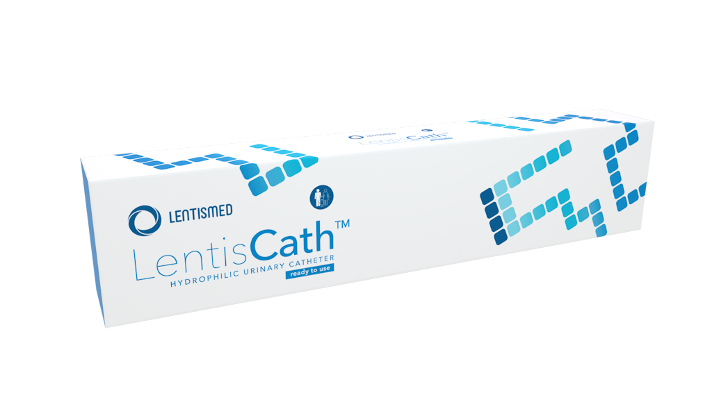 LentisCath – hidrofilni kateter takoj pripravljen za uporabo